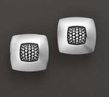 NEW LAGOS Sterling Caviar Imagine Square Earrings $295.00
