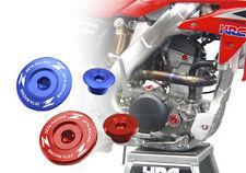 Zeta Motor Tapones Juego Honda Crf R X 150 250 450 Trx Xr Cnc Roja Nueva Barata Ali Aceite