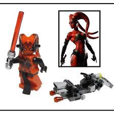 ☆NEW☆ Custom Lego Star Wars Darth Talon Minifig & Bike