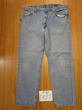 Used 550 relaxed fit levi's jean tag 42x34 meas 42x32.5 zip6929