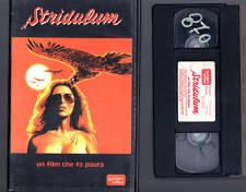 Stridulum (1976) VHS Golden Video MEL FERRER   Franco  NERO