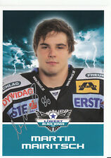 Martin Mairitsch Black Wings Linz 2011-12 TOP AK Orig. Sign. Eishockey +A38215