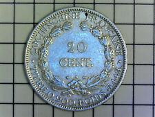 20 Centimes 1879 COCHINCHINE FRANÇAISE Paris - SUP++