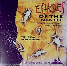 Dean Evenson & Tsonakwa - Echoes of the Night (CD 1992) VG+++ 9/10
