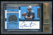 2011 Playoff Contenders - Cam Newton - #228A - Rookie - Autograph - BGS 9.5
