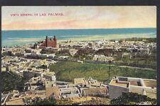 Spain Postcard - Vista General De Las Palmas  C1298