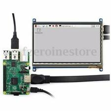 7'' inch Capacitive Touch Screen LCD Display 1024x600 HDMI For Raspberry Pi 2 3