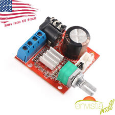 PAM8610 Mini 10W+10W Stereo Audio Power Amplifier Board Module w/ Volume Control