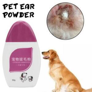 50g Pet Plucking Hair Powder For Pet Dogs Ear Pulling Powder