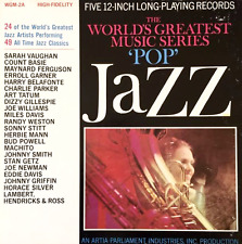 "V/A - The World's Greatest Music Series: ""Pop"" Jazz Volume 2A (5 x LP Box Set)"