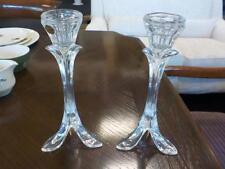 France Crystal & Cut Glass Candlesticks