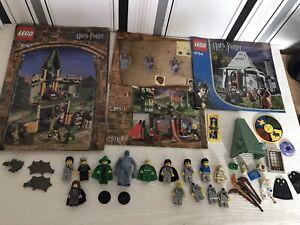 Job Lot Bundle Vintage Lego Harry Potter Minifigures, Manuals & Parts