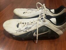 Todd Heap 2001 Rookie Game Used Autographed Worn Nike Cleats Baltimore Raven NFL
