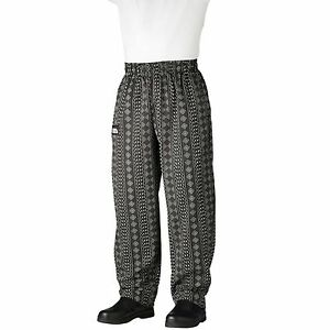 Chefwear 3500-83 Ultimate Chef Pant Tribal Spirit all sizes XS-2XL NEW!