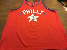 PHILADELPHIA 76ERS  # 3  NBA BASKETBALL JERSEY BY STEVE AND BARRY'S MEN'S XXL