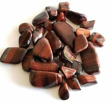 40-60 pcs Red Tiger's Eye Tumbled 1/2 lb bulk stones