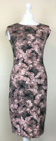 REISS Floral Bodycon Dress Womens UK 8 EU 36