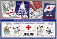 Feuillet F4520 - La Croix-Rouge - Les gestes qui sauvent - 2010