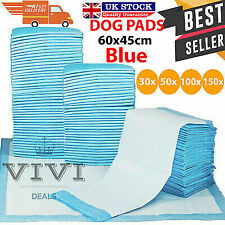 More details for 50/100/150/200 60x45cm large puppy training pads toilet pee wee mats cat pet dog
