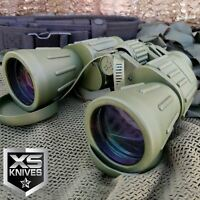 Day/Night 60X50 MILITARY Army BINOCULARS CAMOUFLAGE Outdoor Hunting Camping