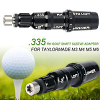 For TaylorMade M3 M4 M5 M6 Golf Shaft Adapter Sleeve .335 Driver Fairway RH