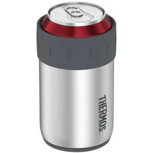 Thermos 12 oz. Insulated Stainless Steel Beverage Can Insulator - Silver/Gray