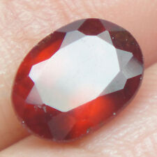 2.07 Ct ~ Fantastic.! Natural Oval Cut Deep Red African Hessonite Garnet