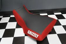 Yamaha Grizzly 660 Red Sides Logo Seat Cover #yz91kya91