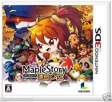 Used Maple Story NINTENDO 3DS JAPANESE  IMPORT