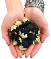 Hollyhock Dried Flowers Black Mallow Flower Craft Soap Candle Potpourri FREE P&P