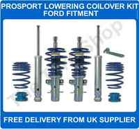 Ford Fiesta Mk7 1.0 Ecoboost 2008 on ProSport Lowering Coilover Kit Suspension
