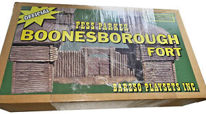 Barzso Fess Parker Boonesborough Fort - mint sealed box- 54mm expanded foam