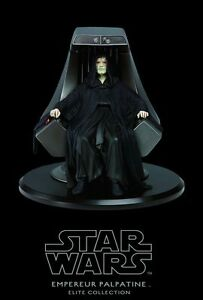 Star Wars Emperor Palpatine Imperial Throne Elite Collection Attakus