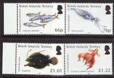 British Antarctic Territory OCEAN ZONES Set  MNH