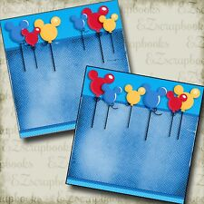 Magical Balloons NPM - Disney - Premade Scrapbook Pages - EZ Layout 2956