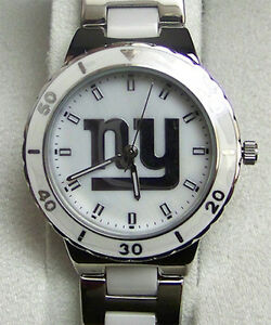 New York Giants Pearl watch Game Time Mother of Pearl Wristwatch Ladies