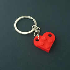 LEGO Love Heart Bright Red Keychain Keyring 3176-021-1 NEW