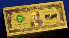 """★★ BILLET POLYMER  """" OR """" DU 100000 DOLLARS 1928 USA ★ DESTOCKAGE ★★"""