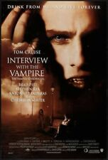 INTERVIEW WITH A VAMPIRE - 27x40 D/S Original Movie Poster One Sheet Tom Cruise