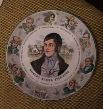"Royal Doulton 10 1/2"" Collector Plate~Robert Burns 1759-1796 Tc 1040"