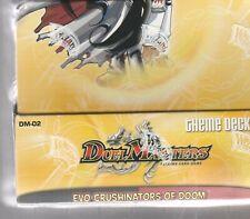 6 count lot of Duel Masters Evo Crushinators of Doom Starter Decks, Sealed Box