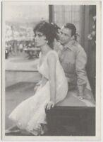 Frank Sinatra GINA LOLLOBRIGIDA 1959 MGM Film Stars Trading Card ITALY #76 E3