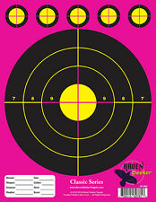 100 PACK: PAPER SHOOTING SNIPER TARGETS: CLASSIC SERIES PINK