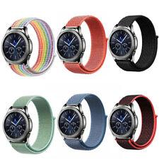 Pulsera de Nailon para Samsung Gear S3 Frontier/Classic/Galaxy Watch nylon