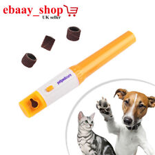 Electric Pets Pedicure Tool for Dogs Cats Nails Grooming Grinder Trimmer Clipper
