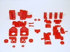 Reprap Prusa i3 mk2s STAMPANTE 3d parti ABS ROSSO/3d PRINTER ABS parts Kit Red