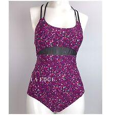 Lululemon Tidal Flow One Piece Swimsuit Paradise Camo Multi Black Size 4