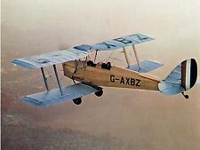 "Model Airplane Plans (RC): Tiger Moth 45""ws Biplane for .23ci Engine"