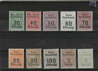 german railway parcel  mounted mint stamps ref 12711