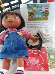 RARE DORA the EXPLORER DOLL, DORA KNOWS YOUR NAME, Toy Talks Sings  No Box